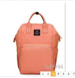 Yeni moda anneler multi-fonksiyonel büyük kapasiteli çanta su geçirmez anne ve bebek sırt çantası wholesaleDHLexpress