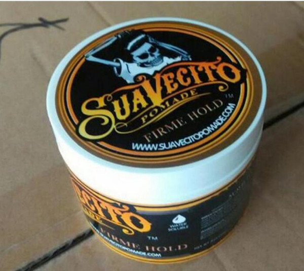 best selling Suavecito Strong style restoring Pomade Hair wax skeleton slicked hair oil wax mud keep hair pomade men