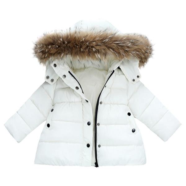 Bébé Fille Automne Hiver Manteau Doudoune Vêtements Chauds d