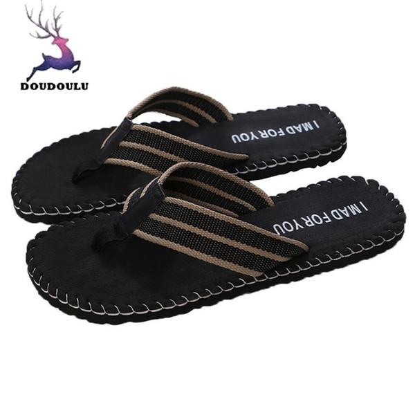 Summer Men Flip Flops Male Shoes Sandals Male Slipper Indoor Or Outdoor Flip Flops Men Casual EVA Beach Shoes Size 40~44