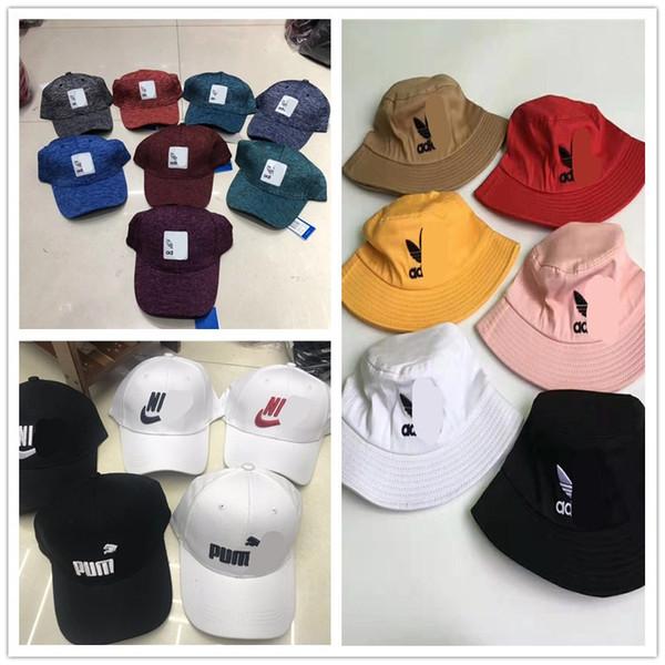 2019 Designer Brand Ball Caps Unisex Bucket Hat Adi N&K Champiom Men Women Snapback Cap Bucket Hat Luxury Sports Beach Sun Hat C61304