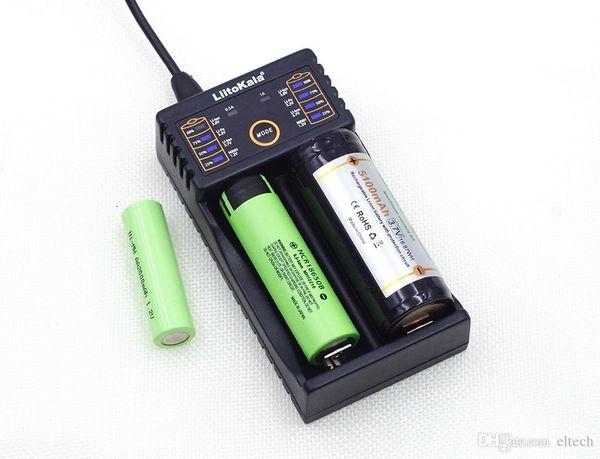 top popular Lii-100 Lii-202 Lii-402 1.2V 3.7V 3.2V 3.85V 18650 18350 26650 10440 18350 NiMH lithium battery smart charger 2021