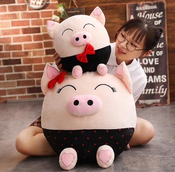Nuovi maiali delle coppie della peluche Regali corporativi Anno della bambola della mascotte del maiale ornamenti creativi della decorazione domestica di modo