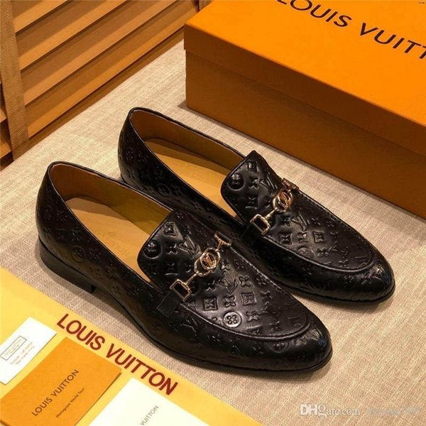 2019 A4 52 Model Lbrands Shoes Fashion Casual Sports High Quality Formal Wear Black Leather Shoes Business Oxford Shoes Comfortable From