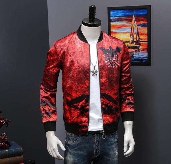 2019 nouvelle veste de mode pour hommes design personnalisé D051