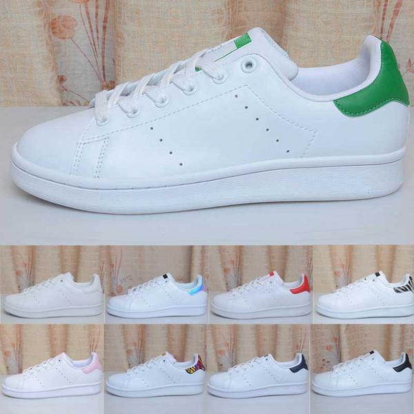 Top Quality Donna Uomo Scarpe nuove Moda Sneakers Scarpe casual Pelle Sport Classic Flats