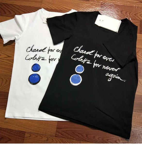 Mulheres T-shirt Das Mulheres Dos Homens de Verão Unisex New Arrivals Carta Moda Impresso T-shirt Mulher Tee Tops Casual Feminino T-shirts