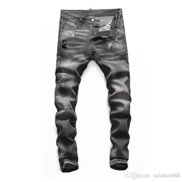 14 colors 2020 men s designer jeans mens skinny jeans night club black blue cotton fashion tight spring autumn men designer pants thumbnail