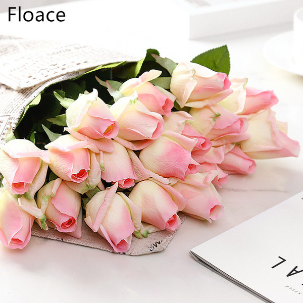 çiçek ipek Floace 15pcs / lot buket Kraliyet Gül lüks yapay çiçekler ipek çiçekler ev düğün dekorasyon