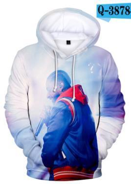 3D Mens nipsey hussle Hoodies Hooded Spring Autumn Sweatshirts Long Sleeved Pullovers