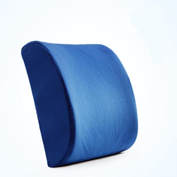 Memory Foam Taille Kissen Auto Büro Sitzkissen Rückenstütze Massage Cojines Decorativos Para Auto Reise Nickerchen Lendenkissen Z06