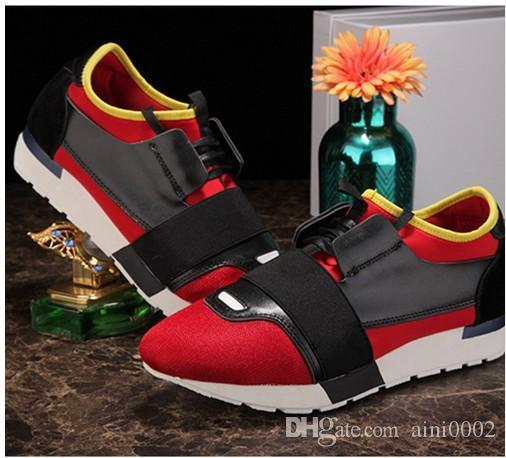 Malla transpirable 2016 Hombres de lujo Balsen Zapatos casuales Hombres Zapatos altos 16 Colores Creepers Hombres Pisos Zapatillas Deportivas