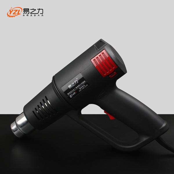 2000 W 220 V Industrial Elétrica Quente Pistolas de Calor Encolher Envoltório Aquecedor Térmico Temperatura Ajustável bocal injetor de aquecimento CN Plug