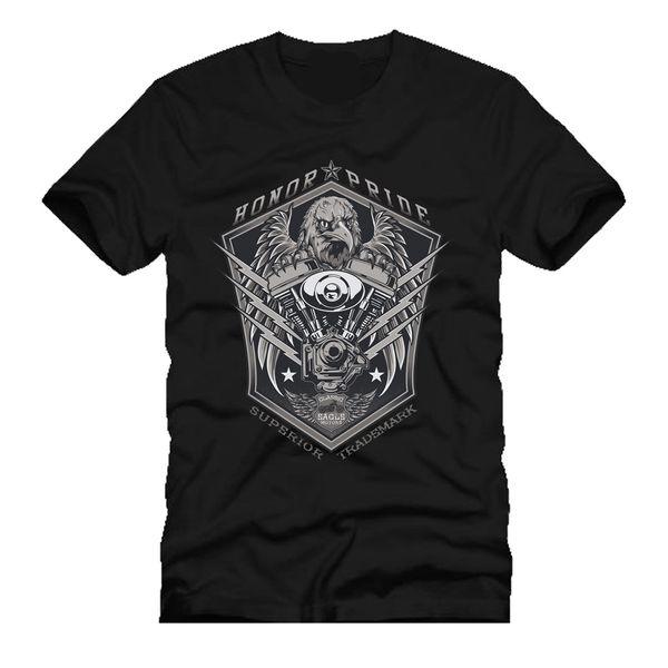 eagle motors honor & pride custom garage racer engine dtg mens t shirt tees 2019 fashion t shirt Cheap wholesale tees