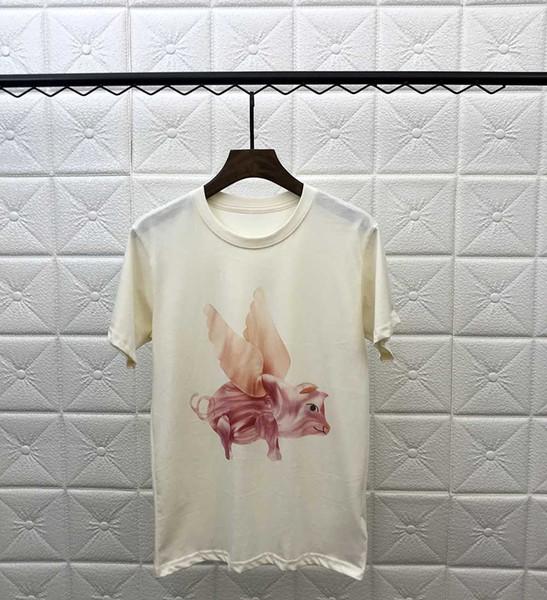 Novo mens designer de t camisas dos homens de manga curta PARIS marca clothing impressão moda feminina t-shirt masculina top quality algodão T fsz9109