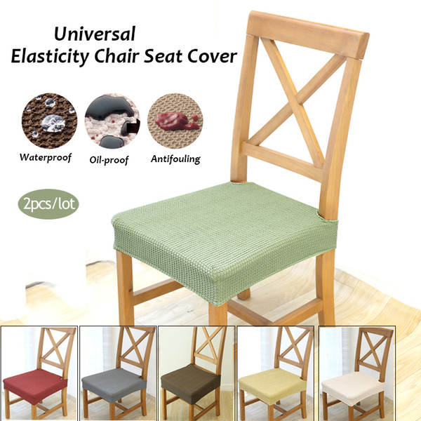 Tremendous Universal Elasticity Chair Covers Waterproof And Anti Fouling Cover Home Dining Chair Protector Seat Cover White Dining Chair Slipcover Cheap Wedding Caraccident5 Cool Chair Designs And Ideas Caraccident5Info