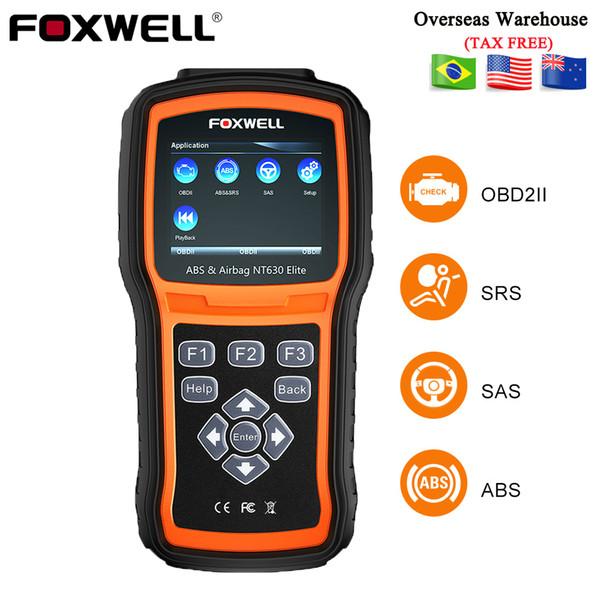 Foxwell OBD2 Automotive Scanner Engine Check ABS SRS Airbag SAS Reset Crash Data NT630 Elite ODB OBD 2 Auto Car Diagnostic Tool