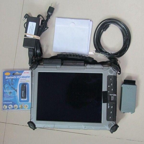 vas 5054a odis v4.3.3 full oki chip diagnostic tool for audi vw installed in laptop xplore ix104 c5 i7 tablet ssd all cables