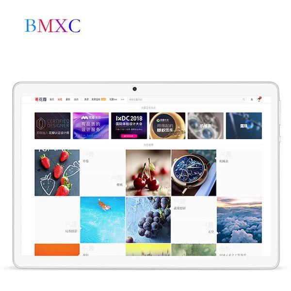 BMXC tableta Android de 10.1 pulgadas 7.0 Octa Core 4GB RAM 32GB ROM ROM tabletas 1280x800 IPS Wifi Bluetooth GPS netbook 9 10