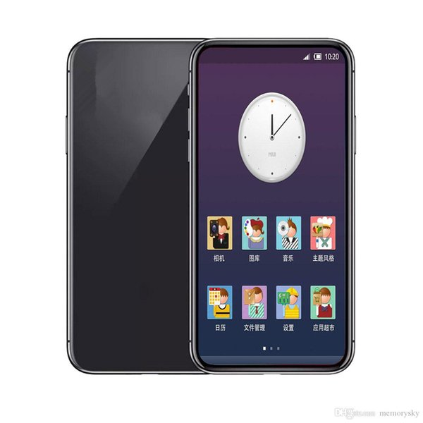 5.8inch Goophone X 1GBRAM 16GBROM MTK6580 Quad Core 8MP FaceID Wireless Charge 3G WCDMA Andriod Phone Sealed Box Fake 4G displayed