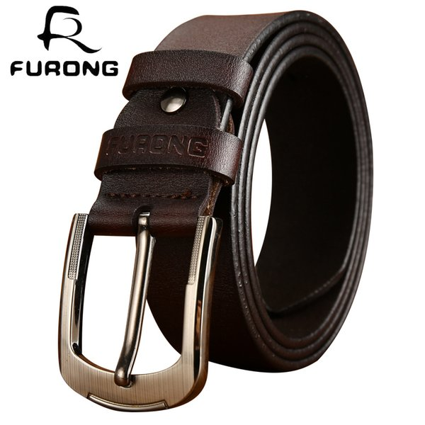 2018 Luxury Strap Male Belts Top Selling Cow Genuine Leather Two Colors Designer Belts For Jeans Leisure Style Male Cow LeatherSH190721