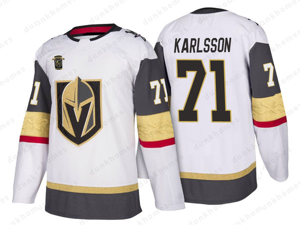 new product cd7ac f4a3f 2019 18 James Neal Vegas Golden Knights 29 Marc Andre Fleury 56 Erik Haula  71 William Karlsson 88 Nate Schmidt 57 Perron Hockey Jerseys 2019 New From  ...
