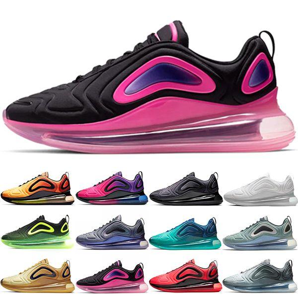 Nike Air Max 720 Chaussures de course Hommes Femmes Northern Southern Lights Sea Forest Gris Carbone Blanc Noir Rouge Jaune Plein-Air Sportif Sneakers Vente En Ligne