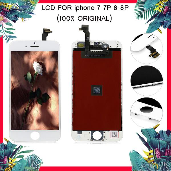 Écran LCD 100% ORIGINAL pour iphone 7 7 Plus écran tactile Digitizer pour iphone 8 8 PLUS Lcd Assemblée Pièces de rechange pour réparation