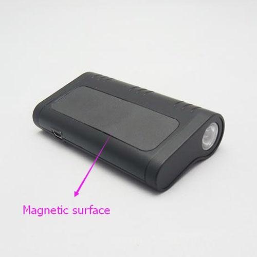 Super magnética 2600 mAh voz ativado 8G gravador de áudio com lanterna