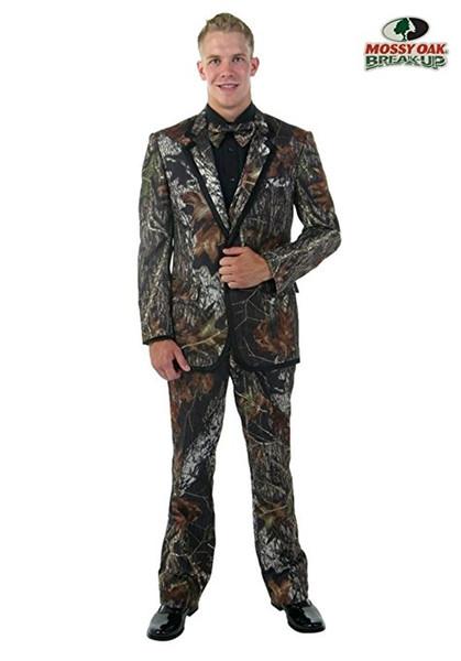 Personalizar Designe Camuflaje Novio Esmoquin Muesca Solapa Padrinos de boda Vestido de novia Mejores hombres populares Fiesta formal Traje de baile (chaqueta + pantalones + corbata) 764