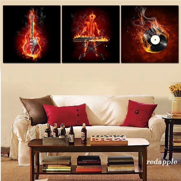 Full square round diamond embroidery guitar piano 3D picture decoration 5d diamond painting Cross Stitch rhinestone Mosaic hobby