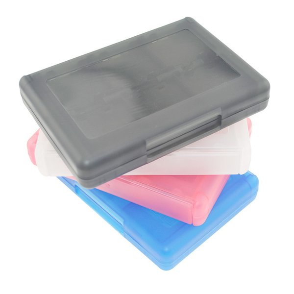 20 Pieces/LOT 2ds Case 28 in 1 Game Memory Card Cases Plastic Micro SD Holder for Nintend NDS NDSi New 3DS LL XL Cartridge Storage Box