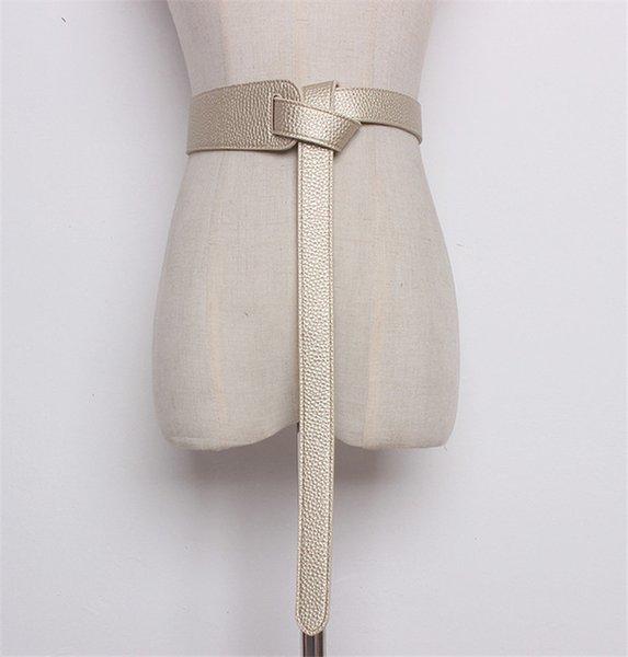 Color:gold&Belt Length:119cm