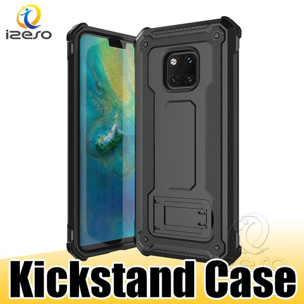 Для iPhone XS MAX XR X 8 7 6 S Plus Samsung S10E S10 Plus Примечание 9 Kickstand случаи противоударный гибридный броня крышка мобильного телефона