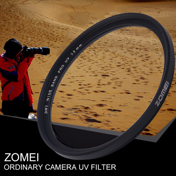 best selling Freeshipping Ultra Thin 40.5 49 52 55 58 62 67 72 77 82mm Camera Ultra-Violet Uv Filter Lens Protecting Filter For Canon For Nikon