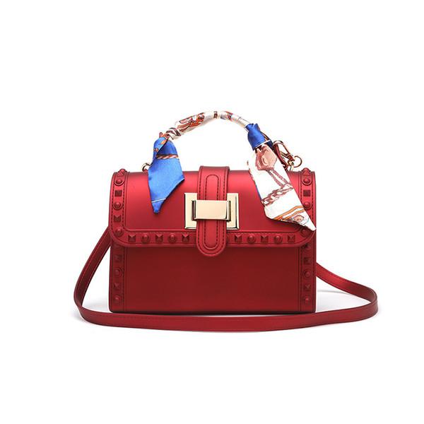 New Brand Fashion Female Scarves Bag Women Messenger Bags Handbags Briefcase Ladies Shoulder Bag Females Leather Handbags
