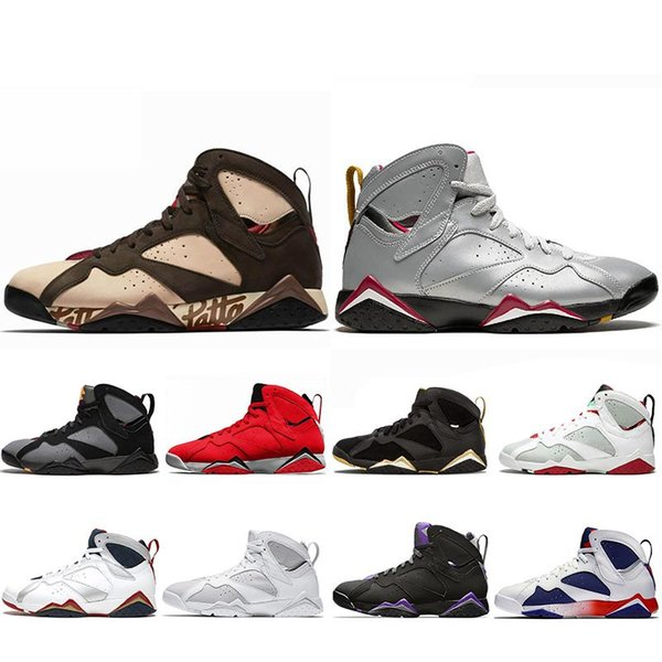 Jumpmanjordan Reflective Bugs Bunny Patta X 7 Basketball Shoes Ray Allen Olympic 7s History of Flight Hare mens Raptor sports Sneakers