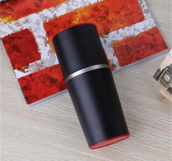 Portable Coffee Grinder di plastica PP materiale Viaggi Grinding Coppa tenere al caldo e freddo pratico vendita Cup Handy mano calda