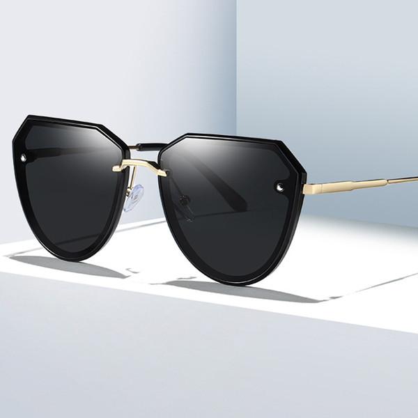 New Style Ladies Polarized Sunglasses HD Vision Fashion Women Sunglasses Brand Design Anti-ultraviolet Full Frame Classic Sunglasses