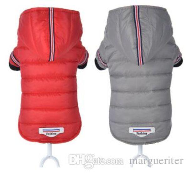 Pet Dog Winter Clothes Dog Warm Cotton Coat Dog Puppy Fashion Hooded Jacket New Style Costumes