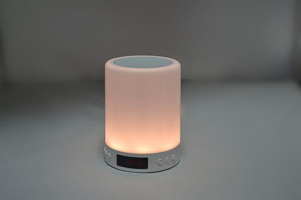 High quality multi-color Light Bluetooth Speakers Portable Music Speaker Smart TouchControl LED Bedside Table Lamp Speakerphone TF Card