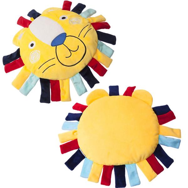 Bébé Peluche Jouet Oreiller Dessin Animé Peluche Peluche Animal Lion Sommeil Confort Doux Oreiller Drôle Jouet Cadeau Bébé Jouets Populaires
