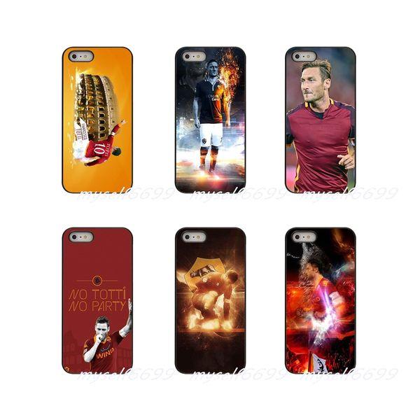 Francesco Totti AS Roma Football Soccer Star cubierta de la caja del teléfono duro para Samsung Galaxy A3 A5 A7 J2 J3 J5 2015 2015 2017 2017 Europa Prime