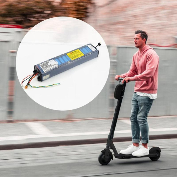 Pour n ° 9 Scooter électrique Accessoires Scooter électrique universel d'origine avec la communication de la batterie 36V 7.8Ah