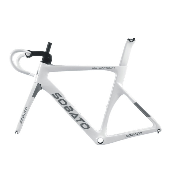 2018 Sobato Nuovo DISC Carbon Frame, Fork + CARBON Manubrio Road Bike 58cm