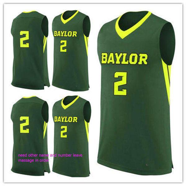 ddcea92ea62 custom made #2 Baylor Bears man women youth basketball jerseys size S-5XL  any