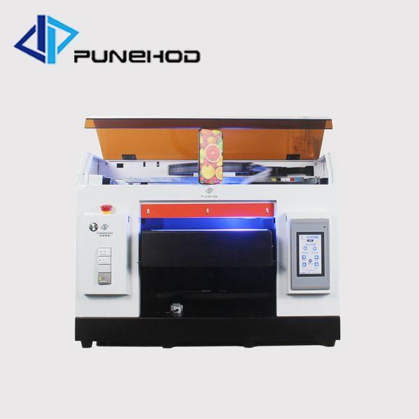 Impressora a jato de tinta uv de mesa multifuncional a3 impressora de caixa de telefone de impressão uv