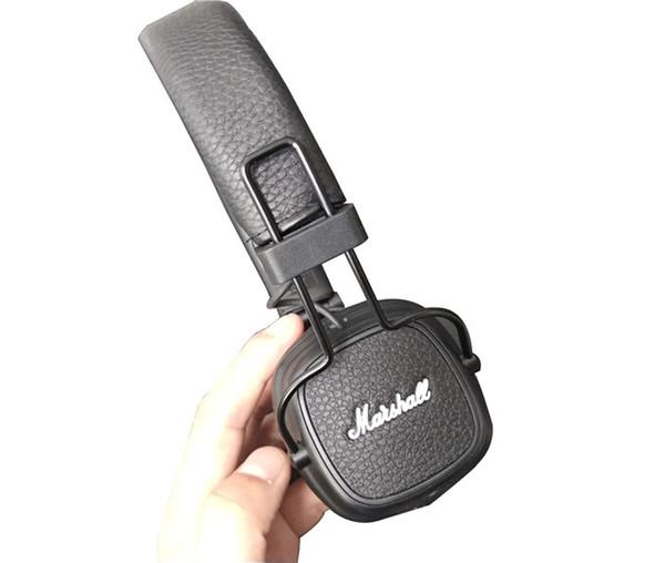 Newest Marshall Major III 3.0 Bluetooth Headphone With Mic Deep Bass Hi-Fi DJ Headset Wireless Major 3 Professional for iphone XS