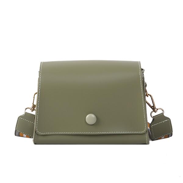 Designer-New Elegant Shoulder Bag Women Wild Simple Messenger Bag For Girls Versatile Casual Shoulder Strap Slung Single Square K620