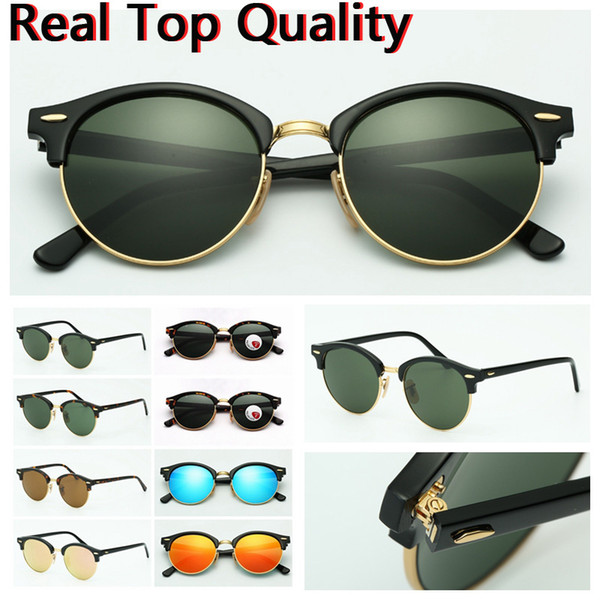 mens Sunglasses top quality fashion Sun Glasses uv protection lenses for man Women with leather case, cloth, boxes, everything!
